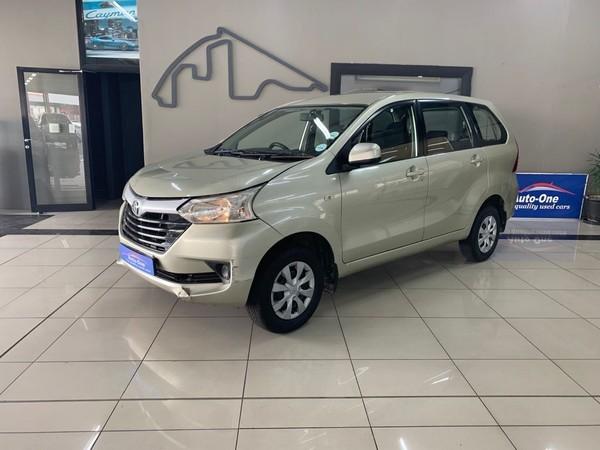 2016 Toyota Avanza 1.5 SX Western Cape Parow_0