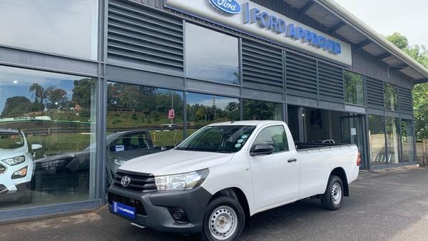 2020 Toyota Hilux 2.4 GD Single-Cab Kwazulu Natal Hillcrest_0
