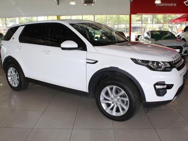 2017 Land Rover Discovery Sport SPORT 2.0i4 D HSE Gauteng Alberton_0
