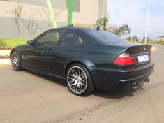 2003 BMW M3 M3E46 BRITISH GREEN WITH BLACK Kwazulu Natal Umhlanga Rocks_4