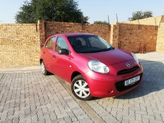 2017 Nissan Micra 1.2 Visia Insync 5dr d86v  North West Province Rustenburg_0