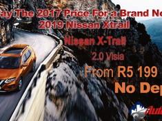 2019 Nissan X-Trail 2.0 Visia Gauteng