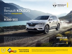 2019 Renault Koleos 2.5 Expression CVT Gauteng