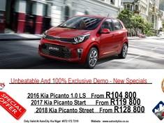 2017 Kia Picanto 1.2 Street Gauteng