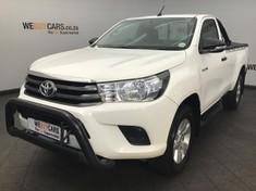 2017 Toyota Hilux 2.4 GD-6 SRX 4X4 Single Cab Bakkie Gauteng