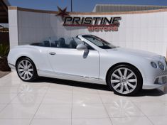 2012 Bentley Continental Gt Convertible W12 Gauteng