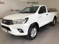 2018 Toyota Hilux 2.4 GD-6 SRX 4X4 Single Cab Bakkie Auto Eastern Cape