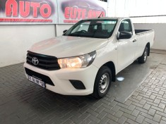 2016 Toyota Hilux 2.4 GD Single Cab Bakkie Gauteng
