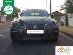 2014 Lexus IS 350 F Sport Gauteng Pretoria_2