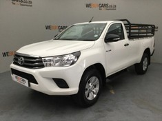 2017 Toyota Hilux 2.4 GD-6 RB SRX Single Cab Bakkie Gauteng Pretoria_0