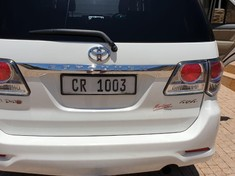2012 Toyota Fortuner 3.0d-4d 4x4 A/t  Western Cape