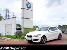 2016 BMW 2 Series 220i Sport Line Auto Kwazulu Natal