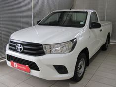 2017 Toyota Hilux 2.0 VVT Single Cab Bakkie Mpumalanga White River_1