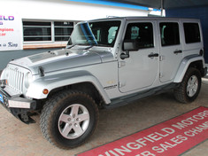 2012 Jeep Wrangler Unlimited 3.6l V6 A/t  Western Cape