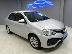 2017 Toyota Etios 1.5 Xs  Gauteng