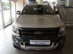 2014 Ford Ranger 3.2TDCi Wildtrak 4x4 Auto Double cab bakkie Gauteng