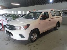 2017 Toyota Hilux 2.0 VVTi AC Single Cab Bakkie Gauteng Benoni_0
