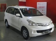 2013 Toyota Avanza 1.5 Sx  Gauteng