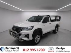 2019 Toyota Hilux 2.4 GD-6 SRX 4X4 Single Cab Bakkie Gauteng Pretoria_0