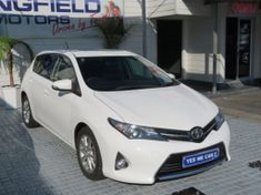 2014 Toyota Auris 1.6 Xr  Western Cape