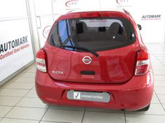 2016 Nissan Micra 1.2 Visia Insync 5dr d86v  Limpopo Groblersdal_4
