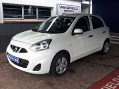 2018 Nissan Micra 1.2 Active Visia Western Cape