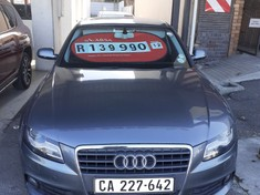 2012 Audi A4 1.8t Ambition Multitronic (b8)  Western Cape