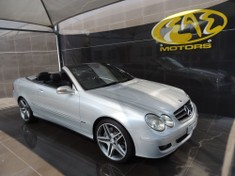 2010 Mercedes-Benz CLK-Class Clk 500 Cabriolet  Gauteng