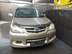 2009 Toyota Avanza 1.5 Sx  Gauteng Vereeniging_1