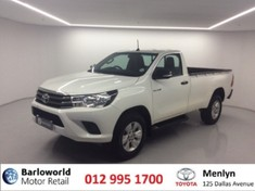 2017 Toyota Hilux 2.4 GD-6 RB SRX Single Cab Bakkie Gauteng