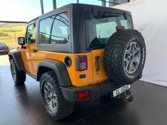 2013 Jeep Wrangler Rubicon 3.6l V6 2dr  Western Cape Paarl_2