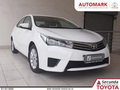 2015 Toyota Corolla 1.6 Prestige Mpumalanga