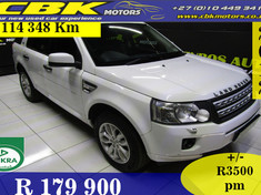 2012 Land Rover Freelander Ii 2.2 Sd4 Se A/t  Gauteng