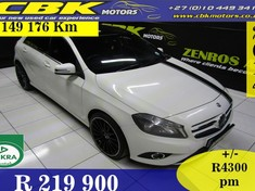 2014 Mercedes-Benz A-Class A 200 Be A/t  Gauteng