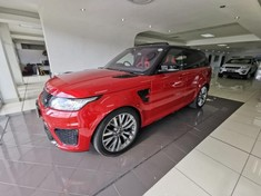 2016 Land Rover Range Rover Sport 5.0 V8 S/C SVR Mpumalanga