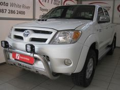 2007 Toyota Hilux 3.0d-4d Raider Pu Dc  Mpumalanga White River_1
