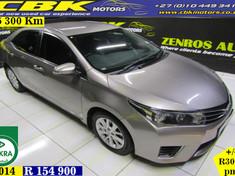 2014 Toyota Corolla 1.3 Prestige Gauteng