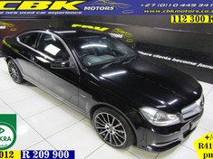 2012 Mercedes-Benz C-Class C250 Be Coupe A/t  Gauteng