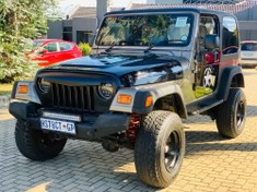 2003 Jeep Wrangler Sahara 4.0  North West Province