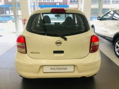 2012 Nissan Micra 1.2 Visia 5dr d82  Free State Bloemfontein_4