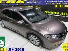2014 Honda Civic 1.8 Executive 5dr A/t  Gauteng