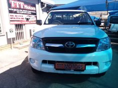 2008 Toyota Hilux 2.5 D-4d Srx Rb Pu Sc  North West Province Rustenburg_2