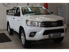 2018 Toyota Hilux 2.4 GD-6 SRX 4X4 Single Cab Bakkie Auto Mpumalanga Barberton_0