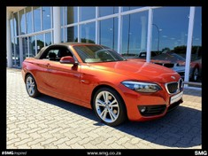 2018 BMW 2 Series 220i Convertible Sport Line Auto (F23) Western Cape