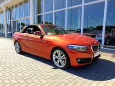 2018 BMW 2 Series 220i Convertible Sport Line Auto F23 Western Cape Tygervalley_1