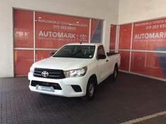 2018 Toyota Hilux 2.0 VVTi AC Single Cab Bakkie Mpumalanga Middelburg_2