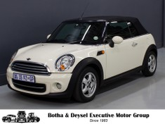 2011 MINI Cooper Convertible  Gauteng