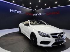 2014 Mercedes-Benz E-Class CGI Cabriolet Gauteng