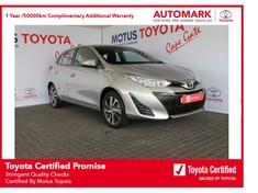 2019 Toyota Yaris 1.5 Xs CVT 5-Door Western Cape