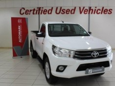 2017 Toyota Hilux 2.4 GD-6 RB SRX Single Cab Bakkie Western Cape